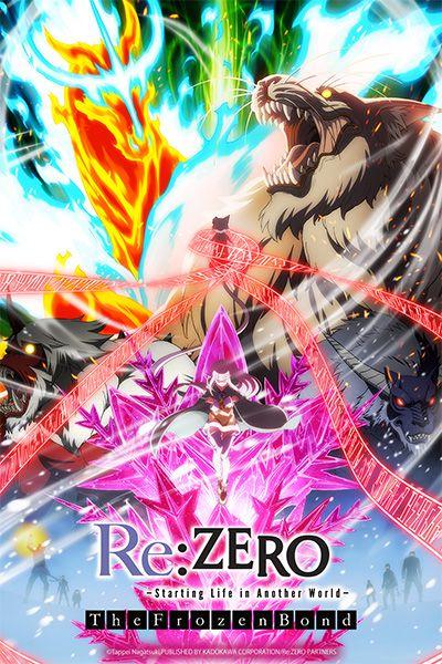L'OVA THE FROZEN BOND de Re:ZERO arrive sur Crunchyroll