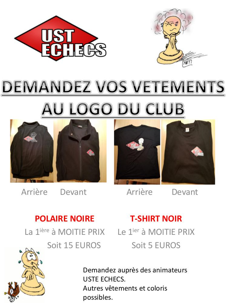 VETEMENTS DU CLUB