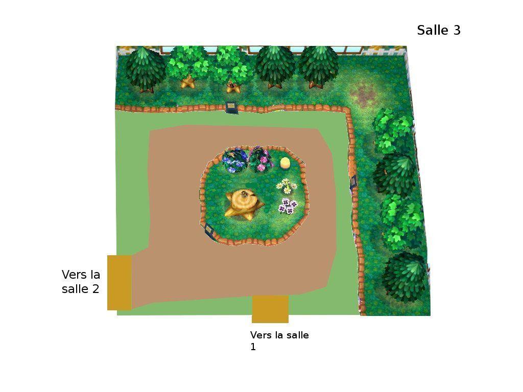 Plan du Musée (section insectes) :