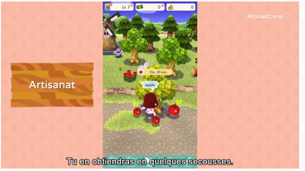 Animal Crossing Pocket Camp (Disponible fin novembre)