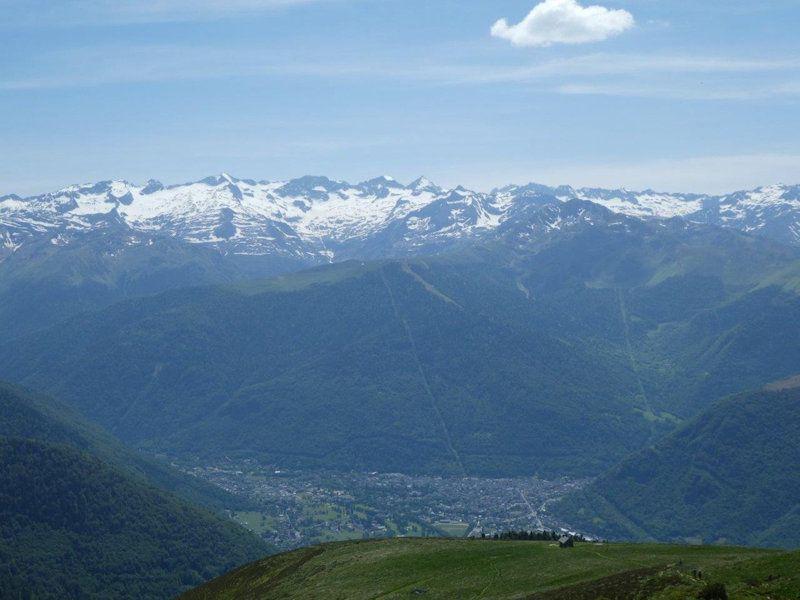 Le pic de Bacanère 2193m