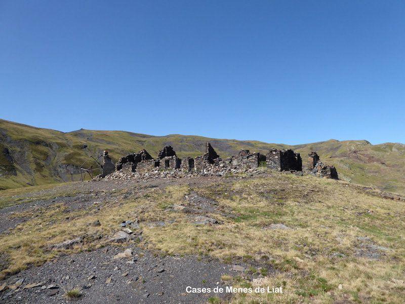 Les  mines de Liat 2300m