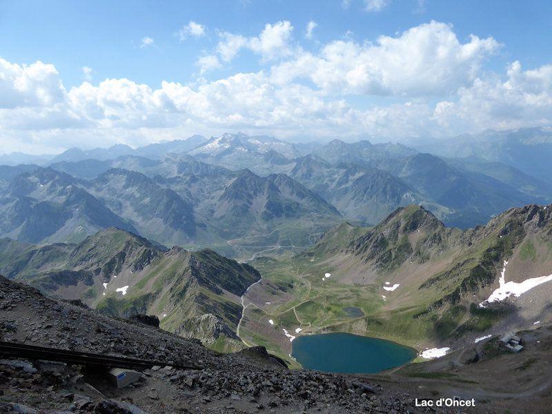 Le Pic de Midi de Bigorre 2876m