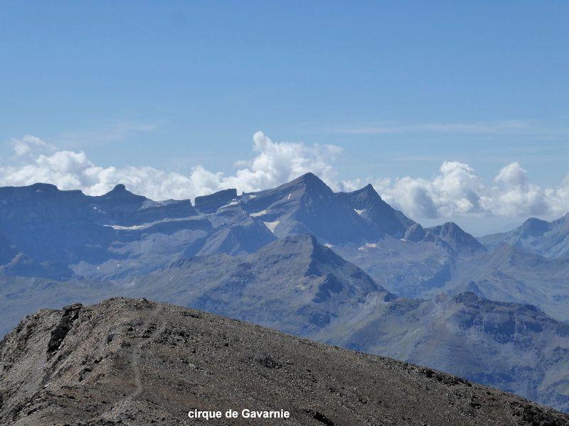 Pic de Campbieil  3173m. – Pic d'Estaragne  3006m.