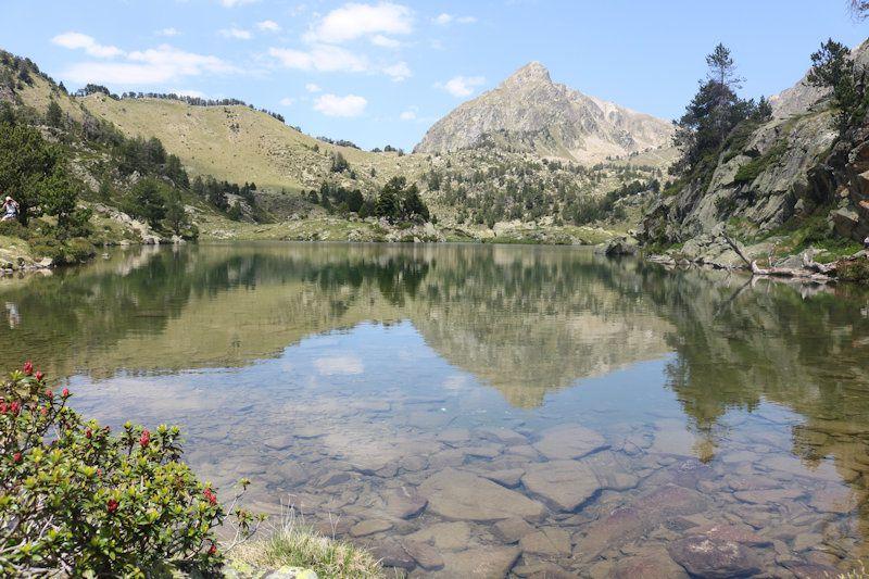 Séjour des Varois dans les Pyrénées    Lacs de Bastans,  29 juin 2019.