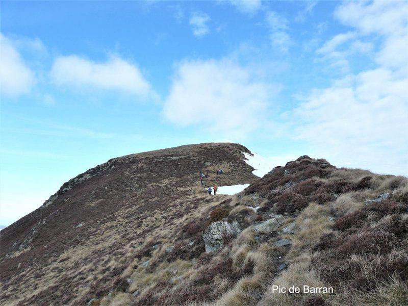 Les pics de Barran et du Mont
