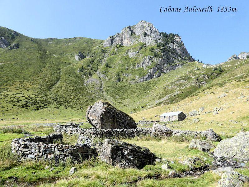 La cabane d'Auloueilh, et au-delàs…..