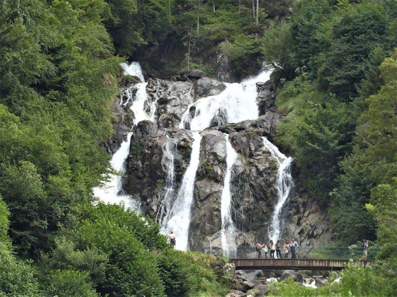 Cauterets , Sentier des Cascades 16/08/2020