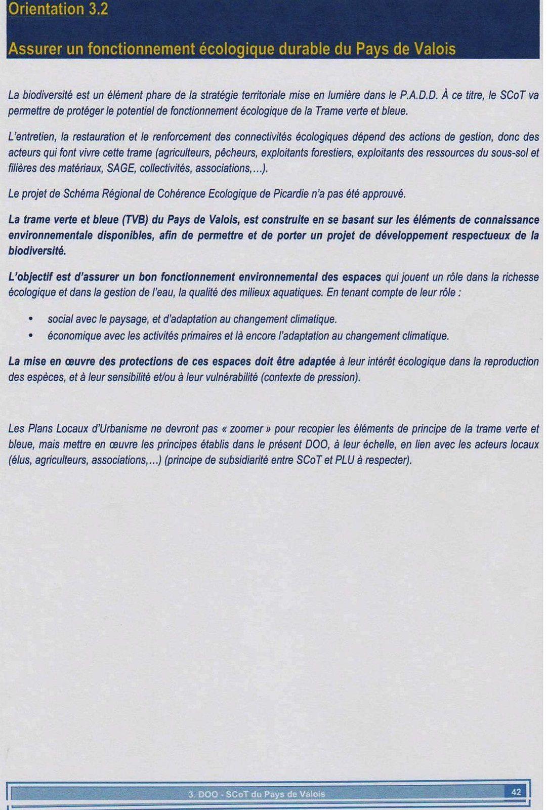 Crépy en Valois : Enquête publique sur le Schéma de Cohérence Territoriale de la Communauté de Communes du Pays de Valois (SCOT)