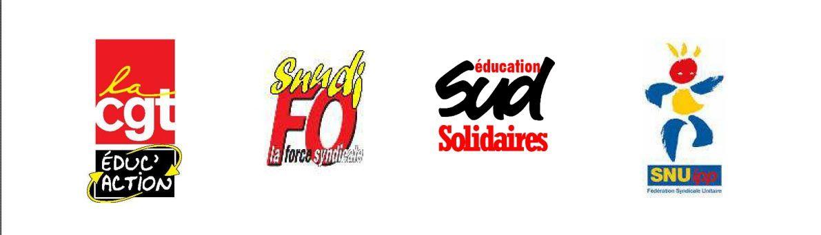 Appel national intersyndical SNUipp FSU, SNUDI FO, CGT Educ'action, SUD Education : Le 26 janvier 2016, tous en grève dans les écoles !