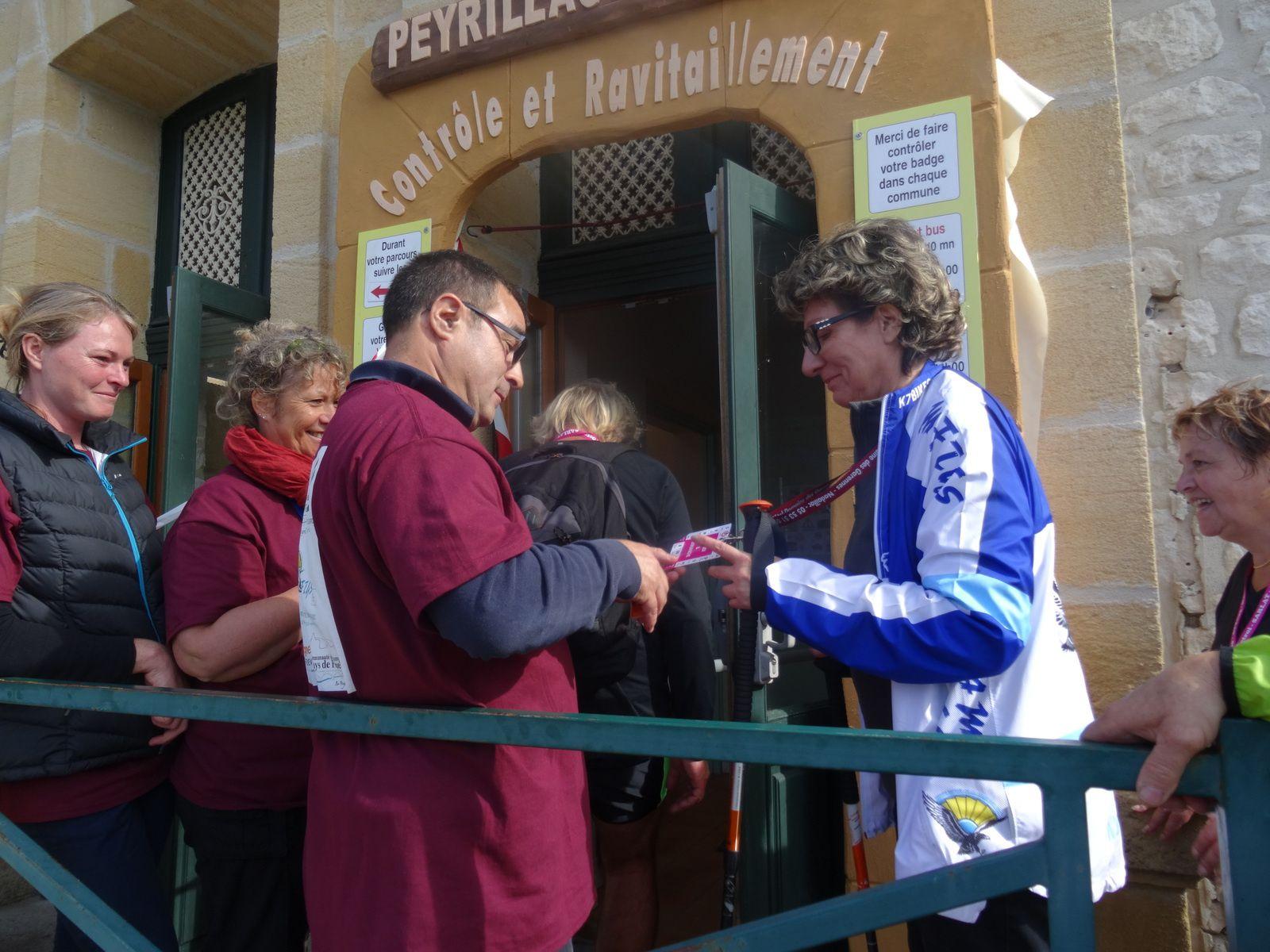 3ème étape Cazoules Peyrillac et Millac dans la vallée de la Dordogne..