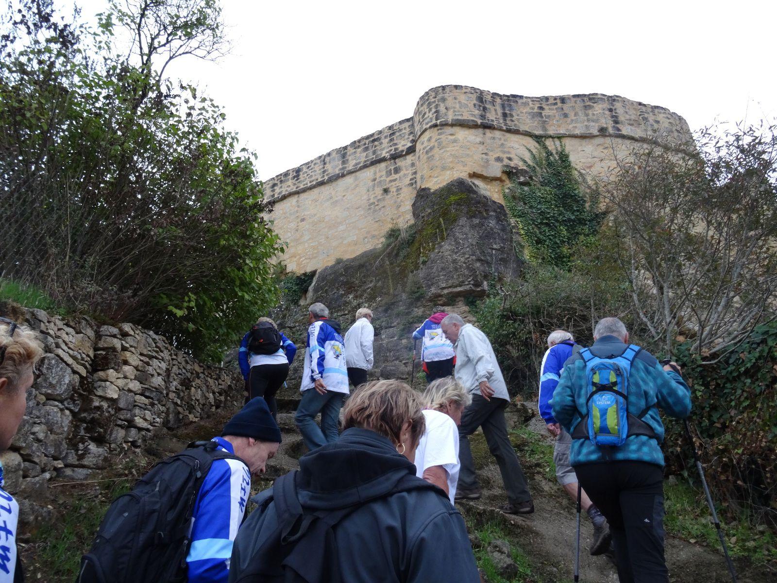 4 ème étape Peyrillac et Millac à Carlux. le soir réception à Salignac. Dimanche départ de Carlux.