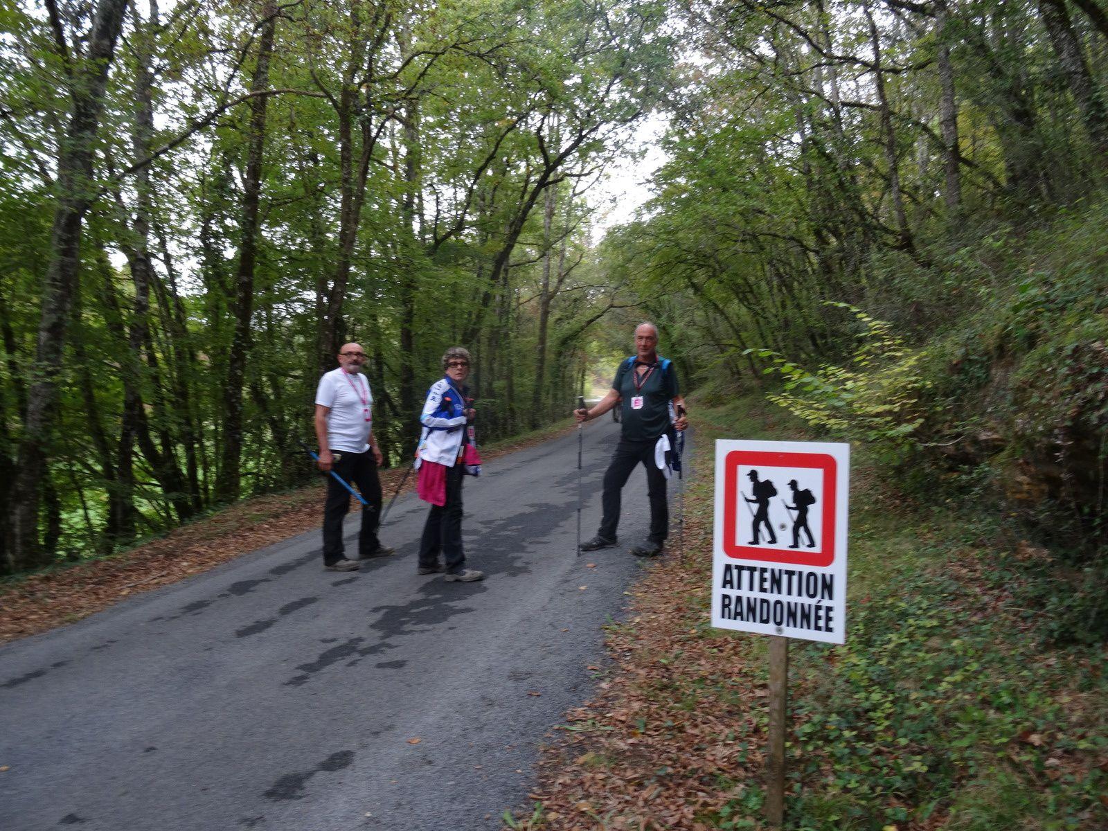 7ème étape Simeyrols à Prats de Carlux et 8ème étape pour terminer à Saint Crépin Carlucet soit 57 kms.
