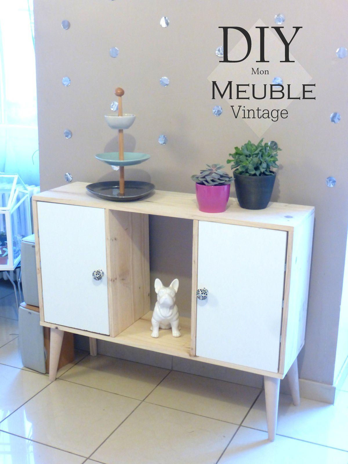Diy Bouton De Meuble un meuble au style nordique-vintage. tuto inside - lulubidouille