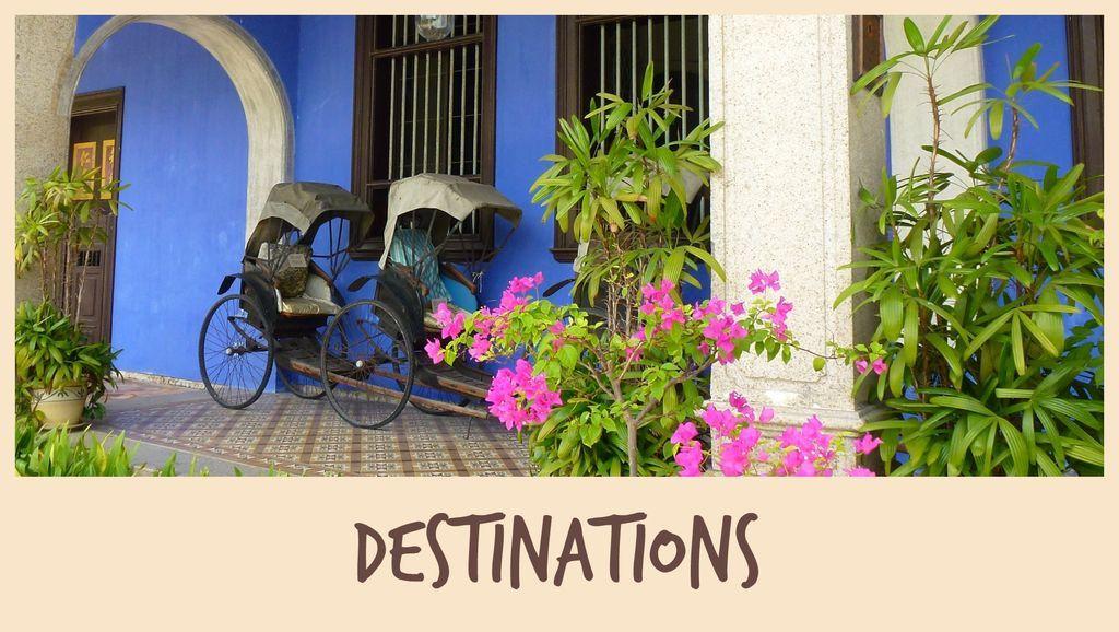 Nos destinations en Asie et ailleurs