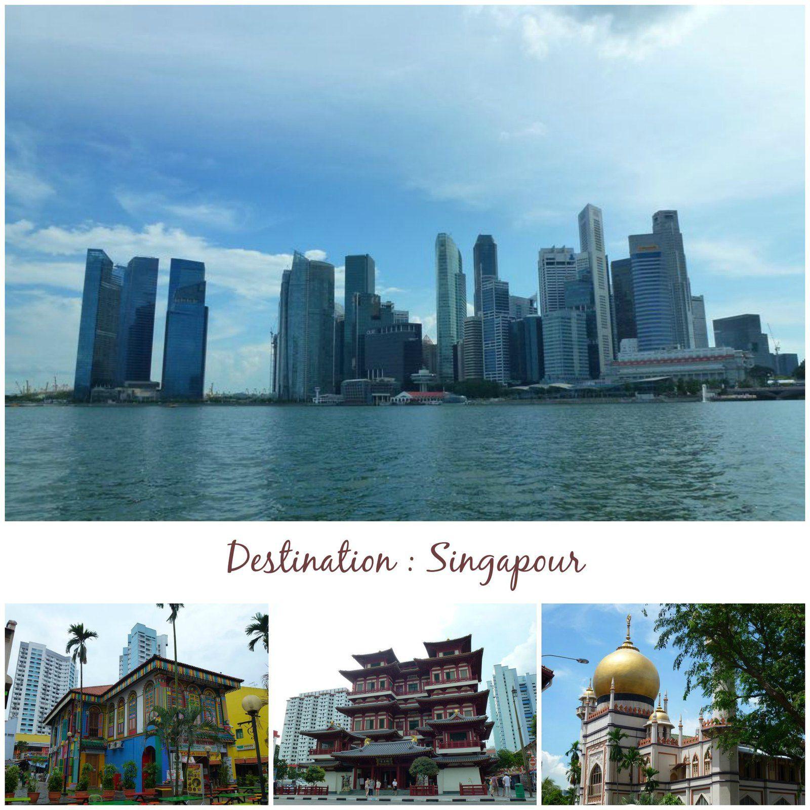 Un voyage à Singapour, ça vous tente ?