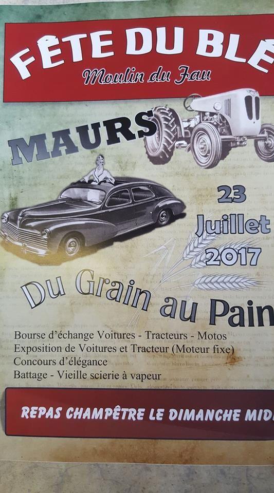 Fête du blé à Maurs