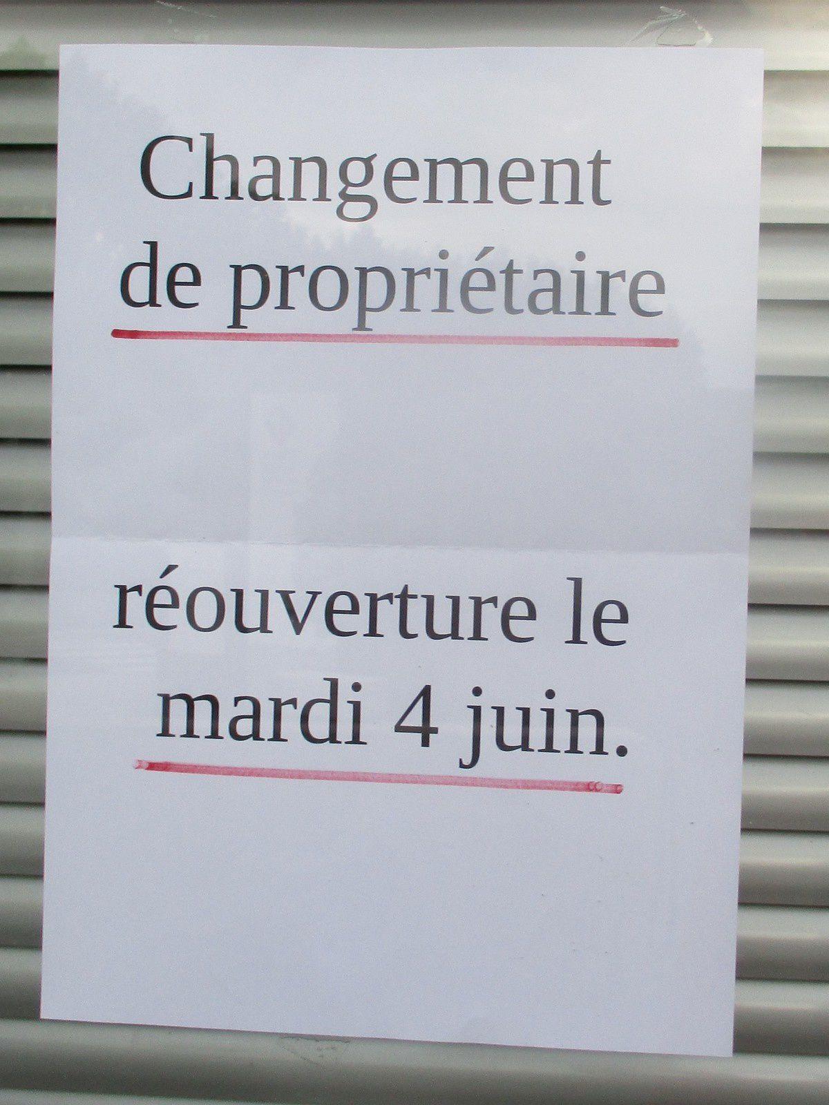Changement de propriétaire à la boucherie-charcuterie chez ROQUESOLANE