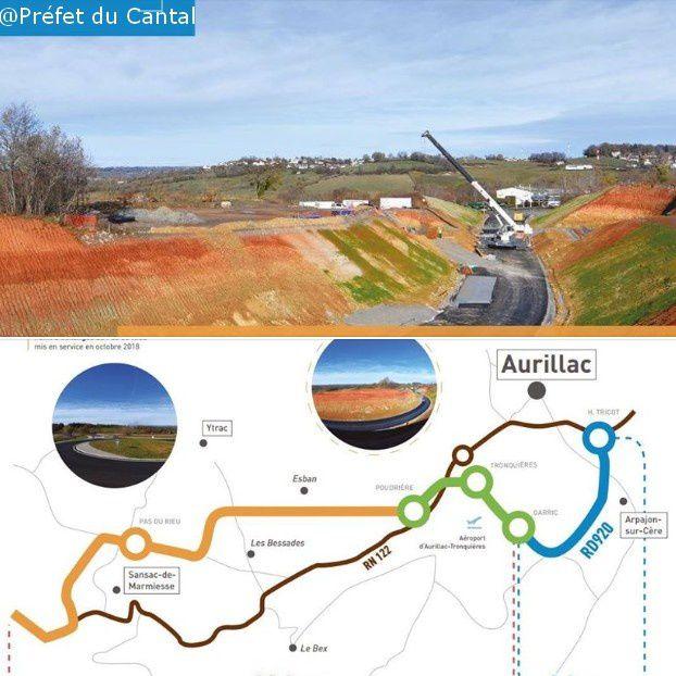 Source Préfecture du Cantal