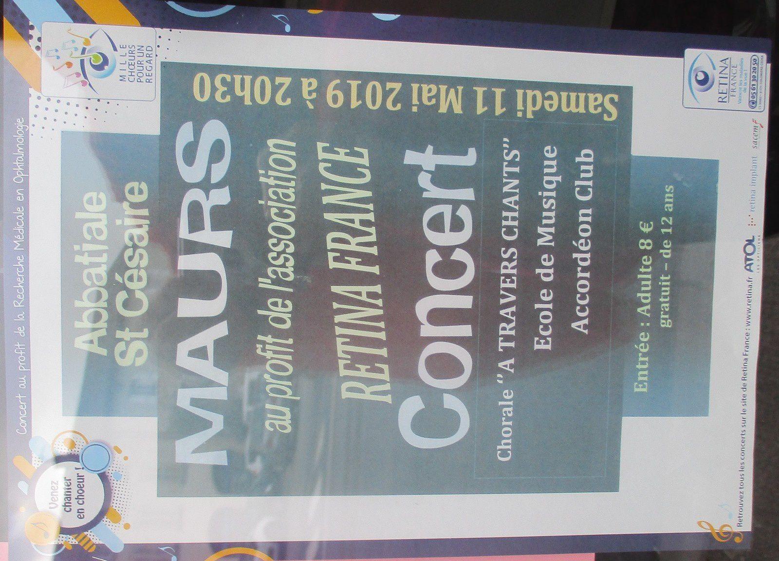 Concert à l'Abbatiale St Césaire à Maurs