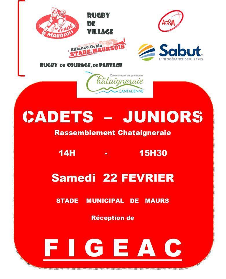 Rugby cadets-juniors à Maurs