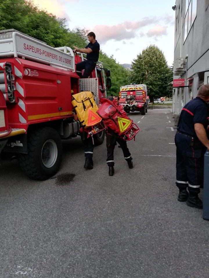 Des pompiers Isérois en renfort dans le sud de la France