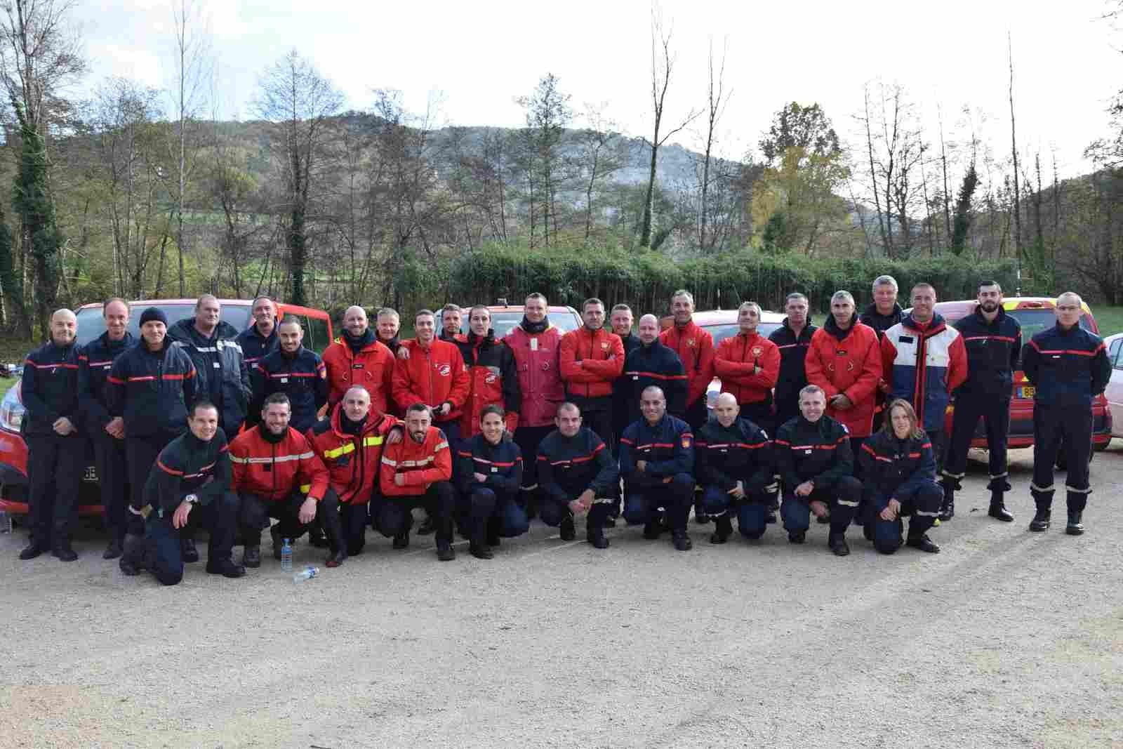LOT (46) - Une trentaine de pompiers participent à un exercice zonal de plongée