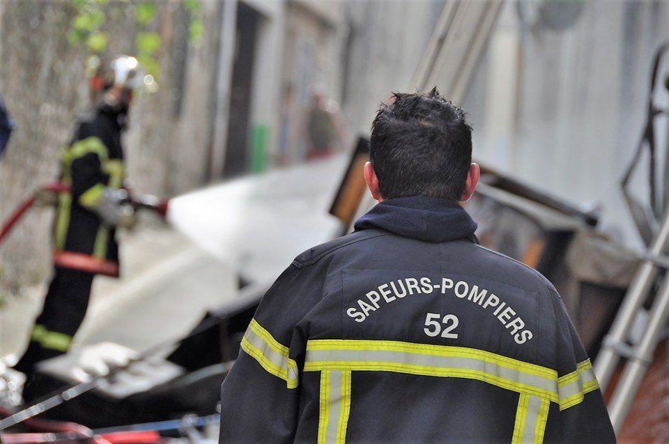 Joinville (52) - Incendie au rez-de-chaussée d'un immeuble