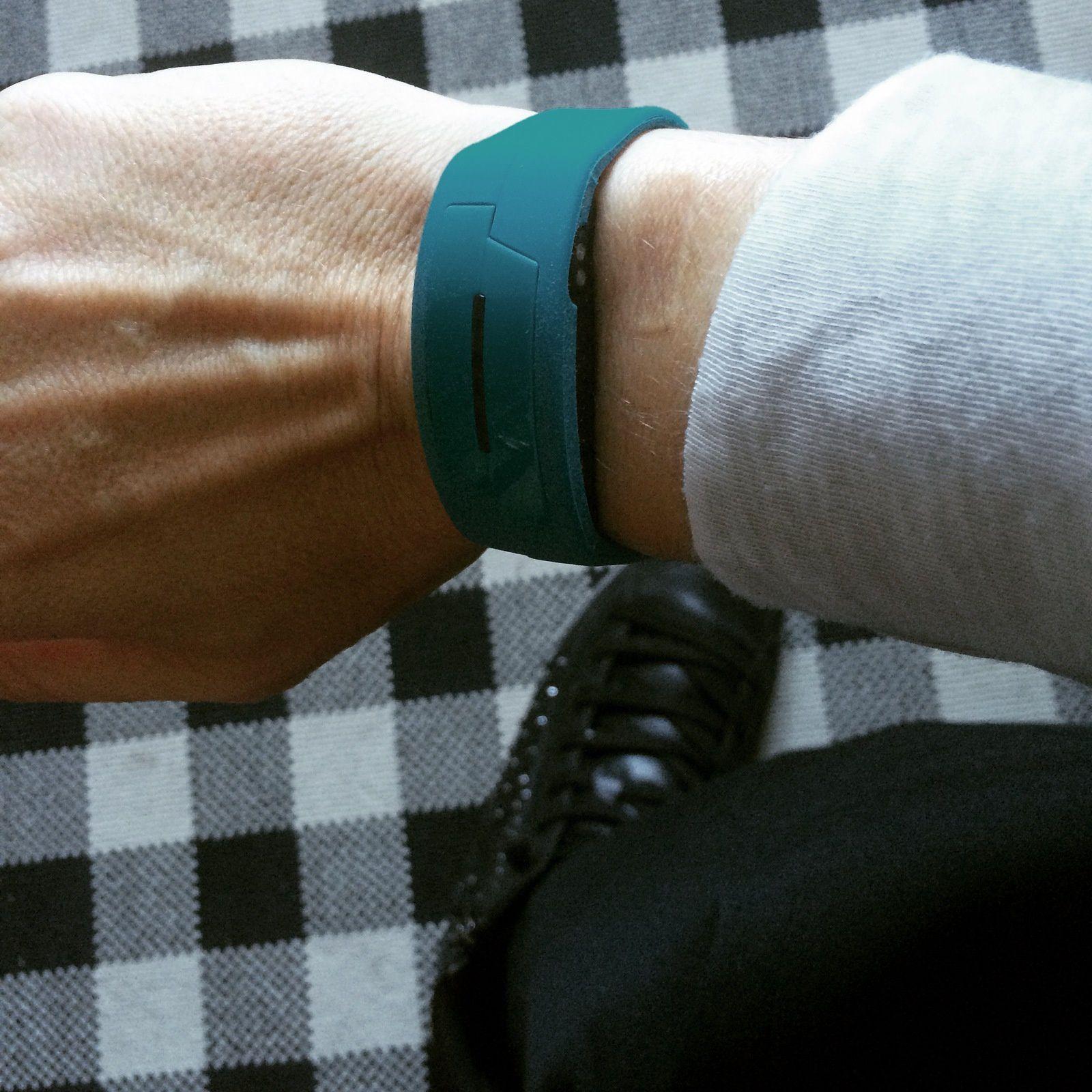 Mon activité avec le bracelet Epson Pulsense PS-100