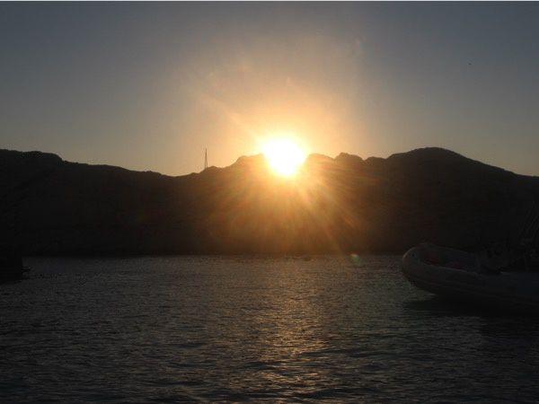 Virée en bateau au large de Marseille