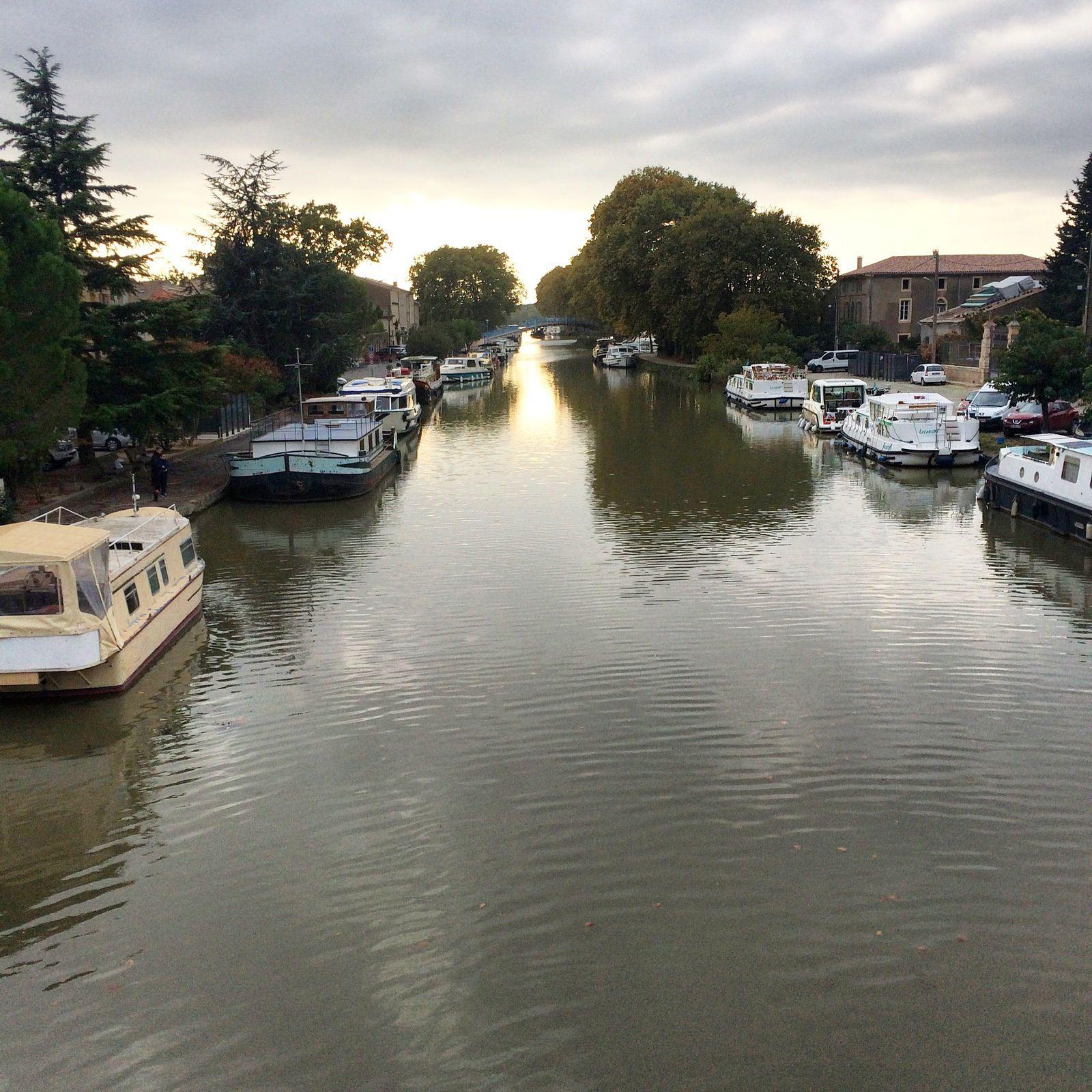 Une semaine sur le Canal du Midi