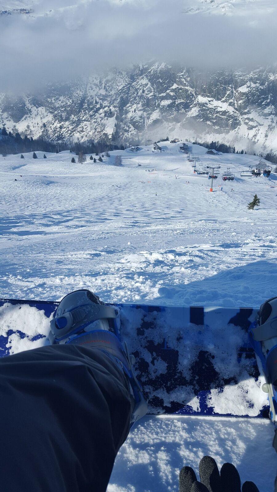 Quelques mots de snowboard