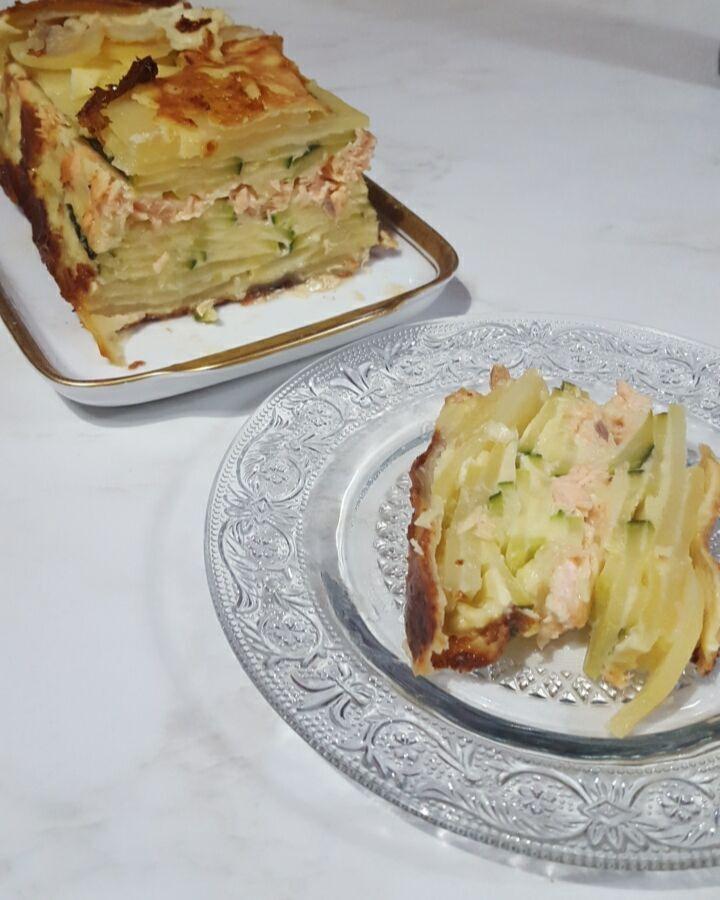 Gâteau invisible en plat unique