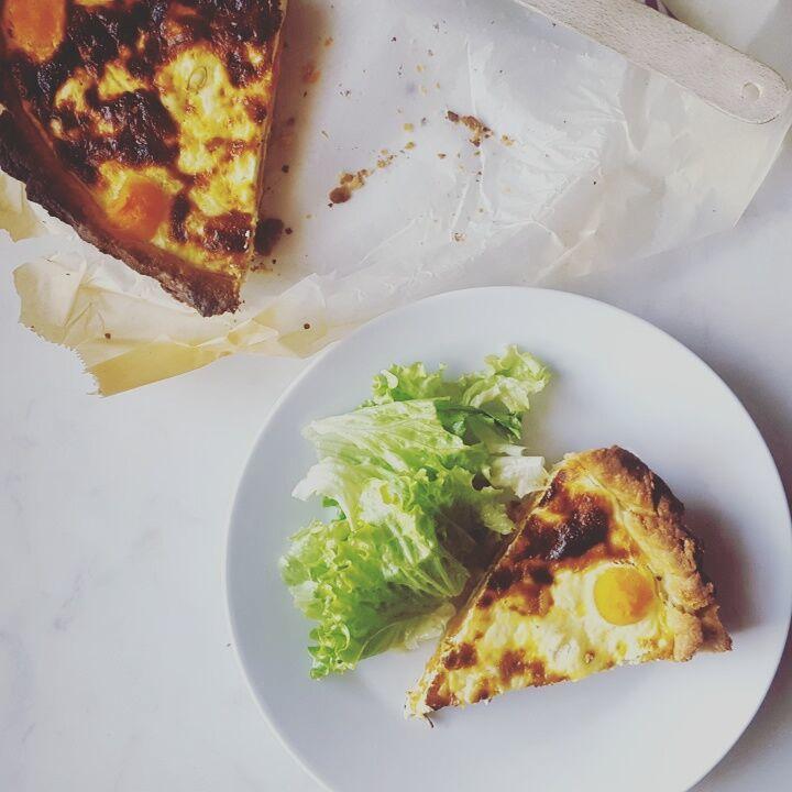 Tarte à la courge butternut & au fromage de chèvre