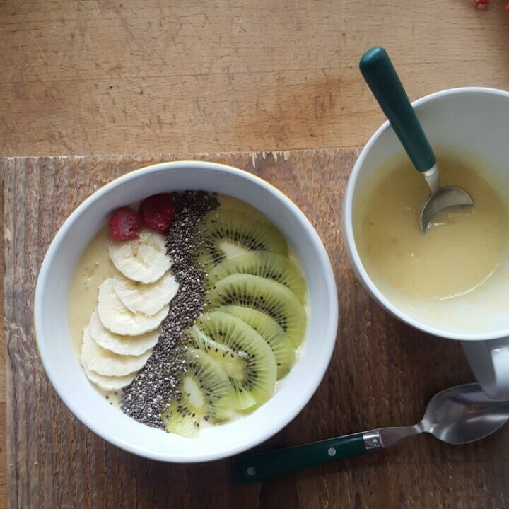Smoothie bowl mangue - banane