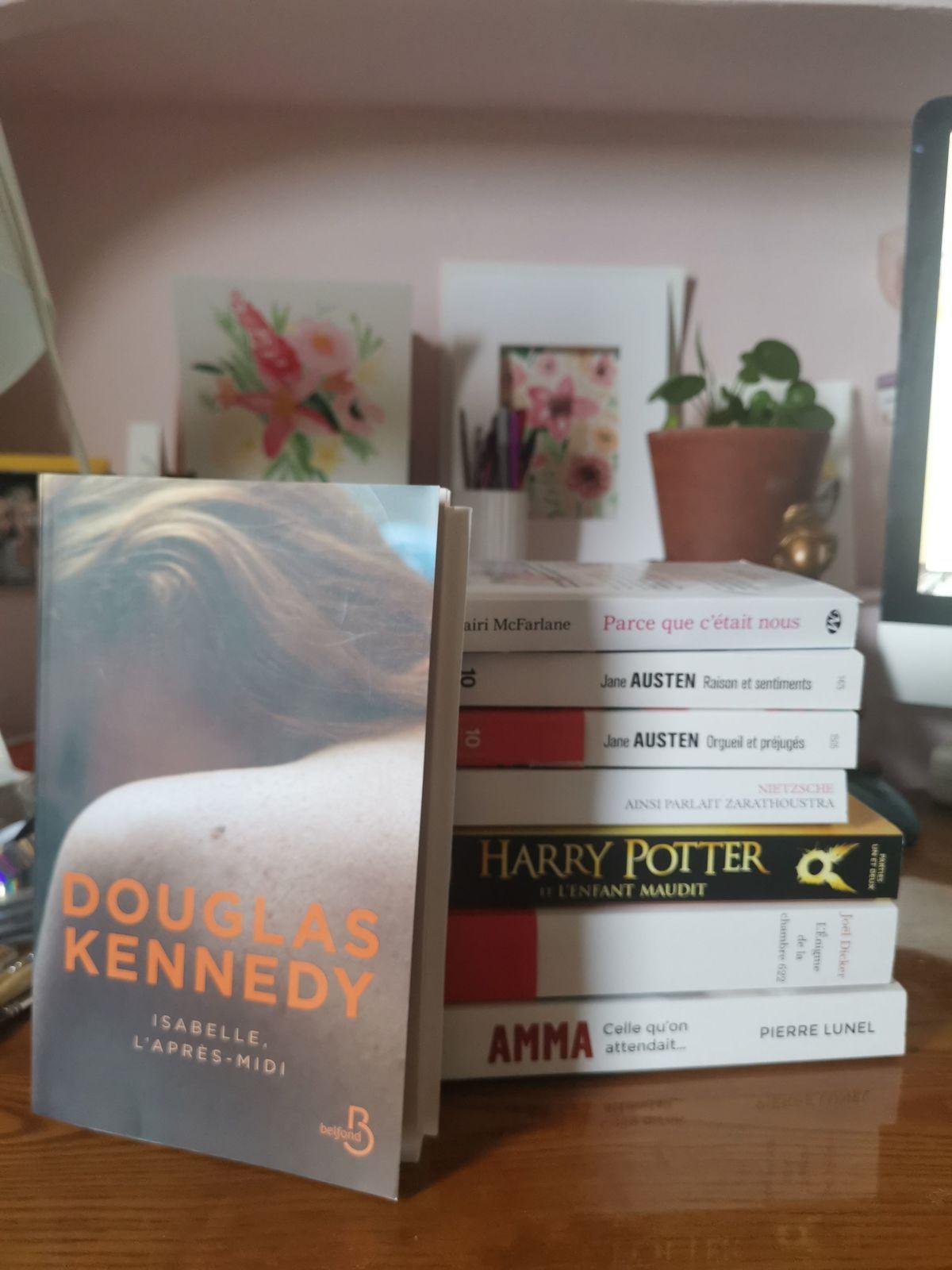 Ma pile de livres