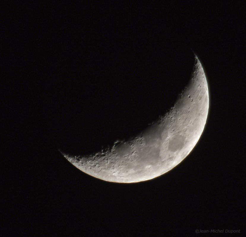 La lune le 13 mars