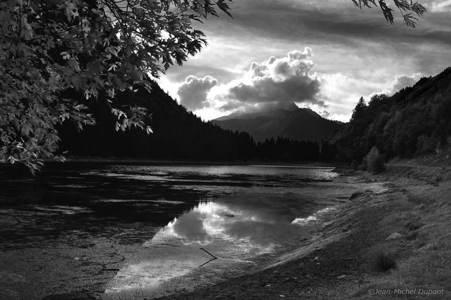 Les Alpes en noir et blanc