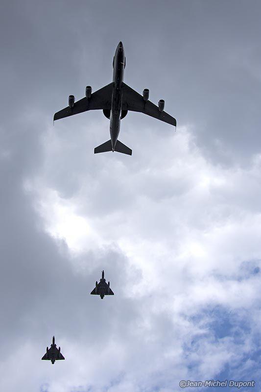 Répétition du défilé aérien