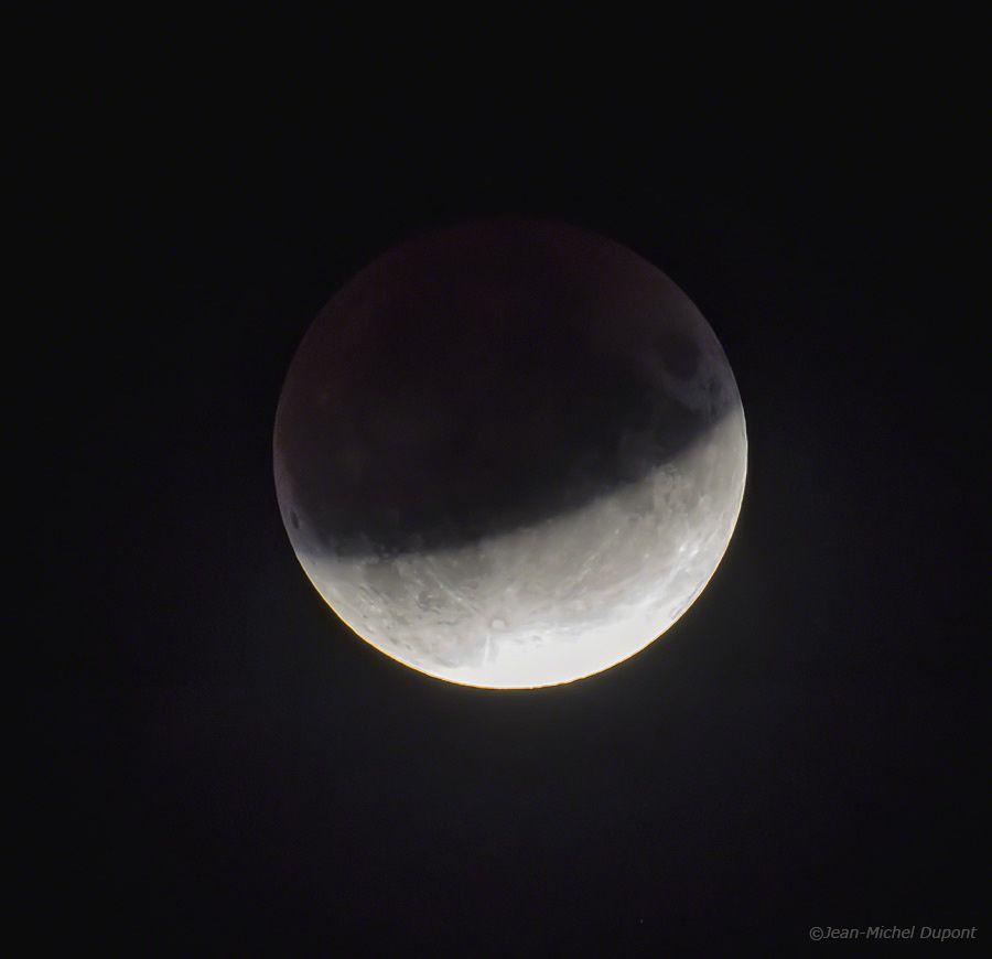 Eclipse de lune du 16 juillet