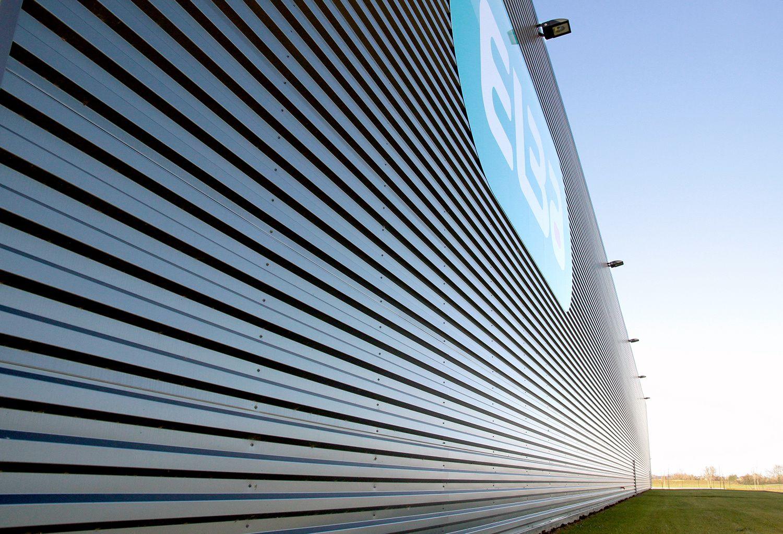 Structure métallique réalisée par l'entreprise métallique Loncle à Saint Malo. Photo Yann Chollet