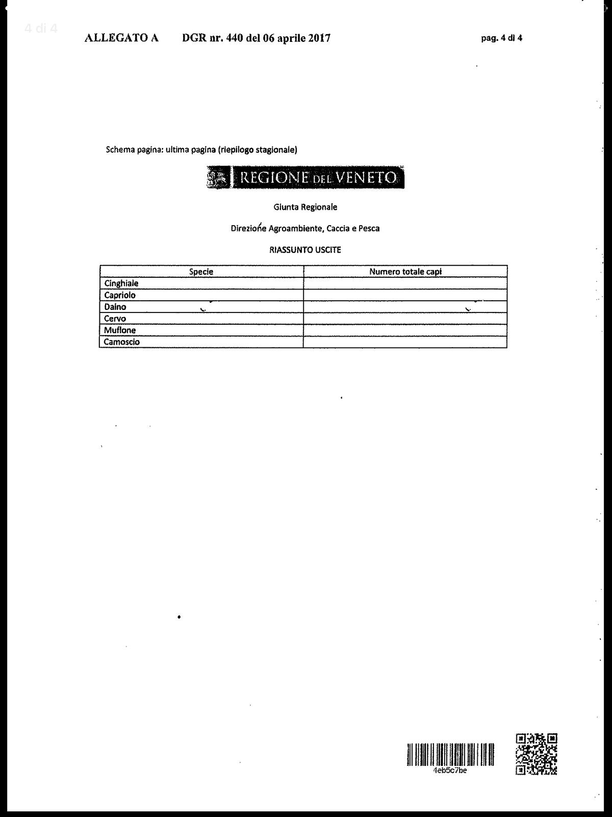 Stagione venatoria 2017/2018. Disposizioni in materia di caccia agli ungulati.