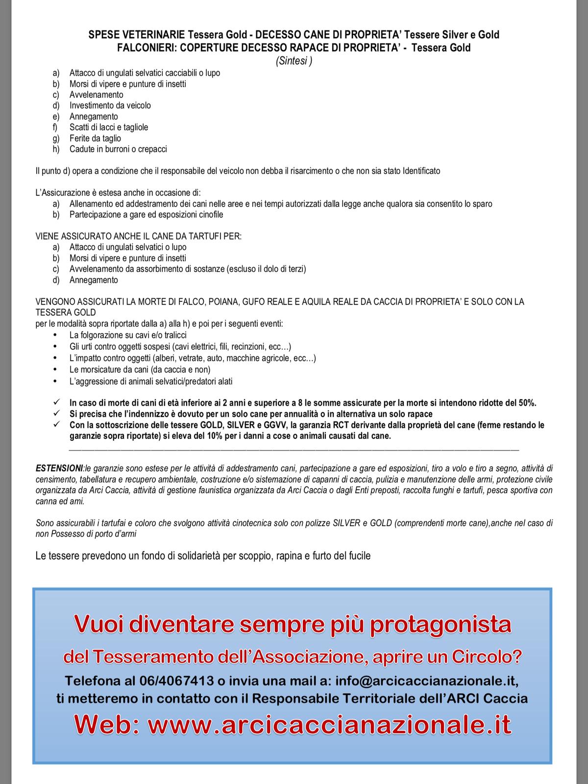 CONTATTI PROVINCIALI/TESSERAMENTO 2017