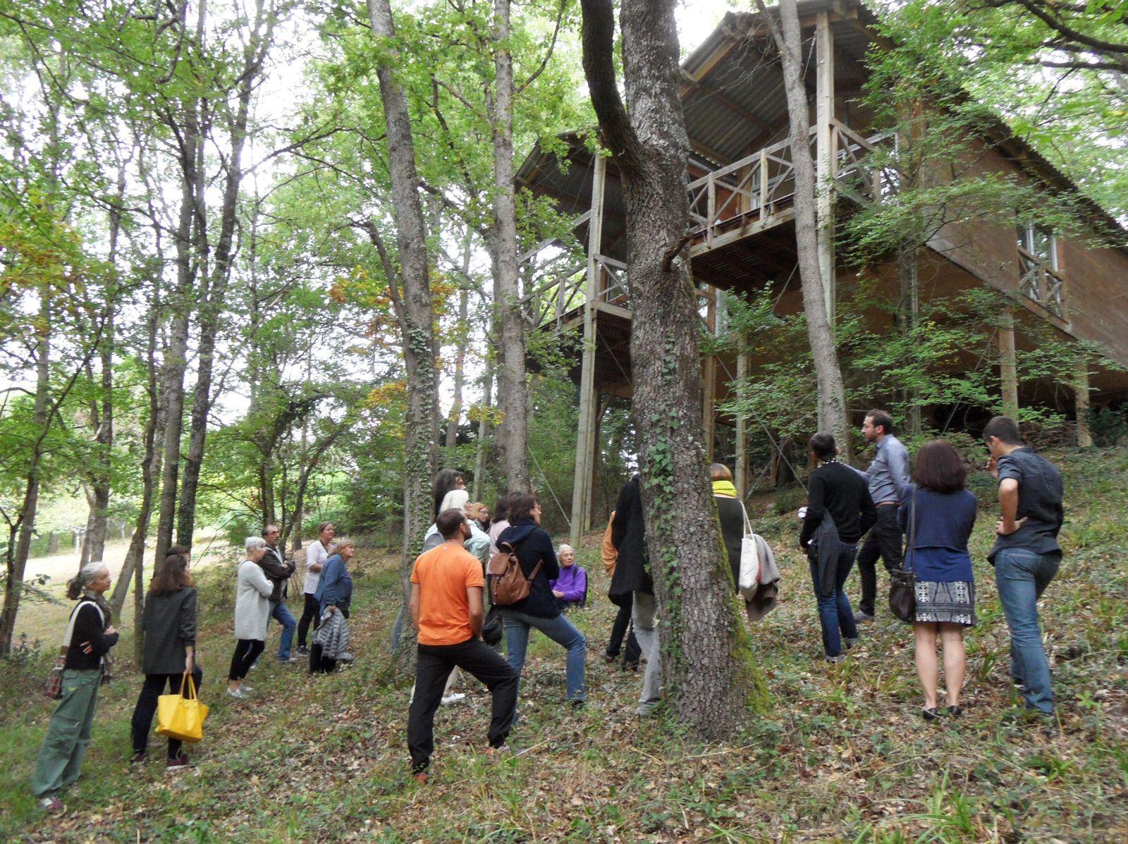 Journées nationales de l'architecture... dans les bois