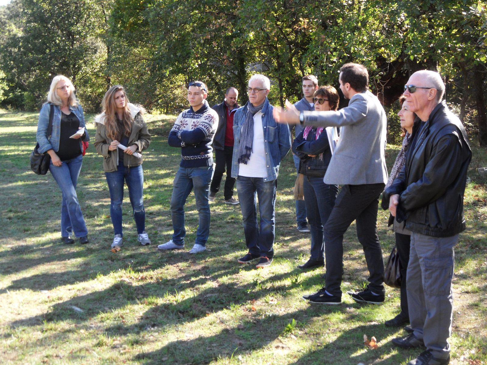 Journées nationales de l'architecture Saint Martin de Tréviers (34), 15 octobre 2016