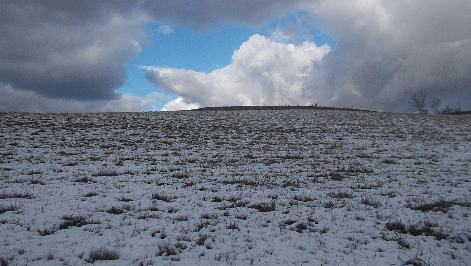Photos prises dans la Drôme des collines par Régis Roux le 14 janvier 2017.
