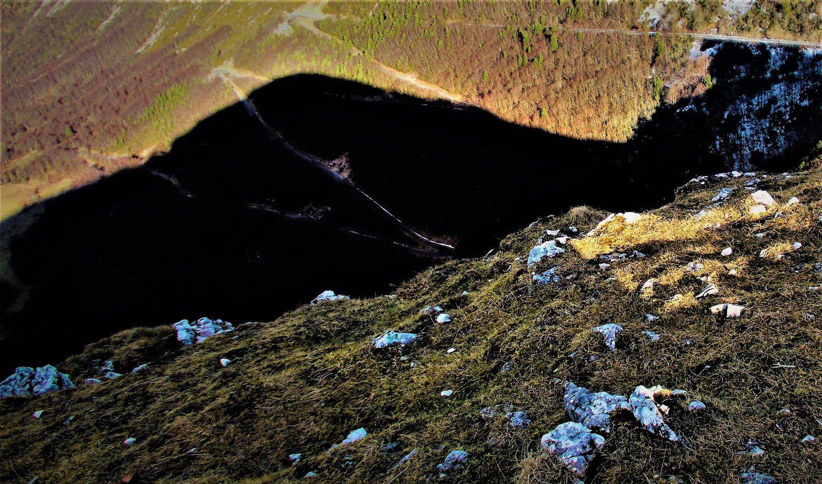 photos prises par Régis Roux le 31 décembre 2017 dans les Monts du matin depuis Pierre chauve.