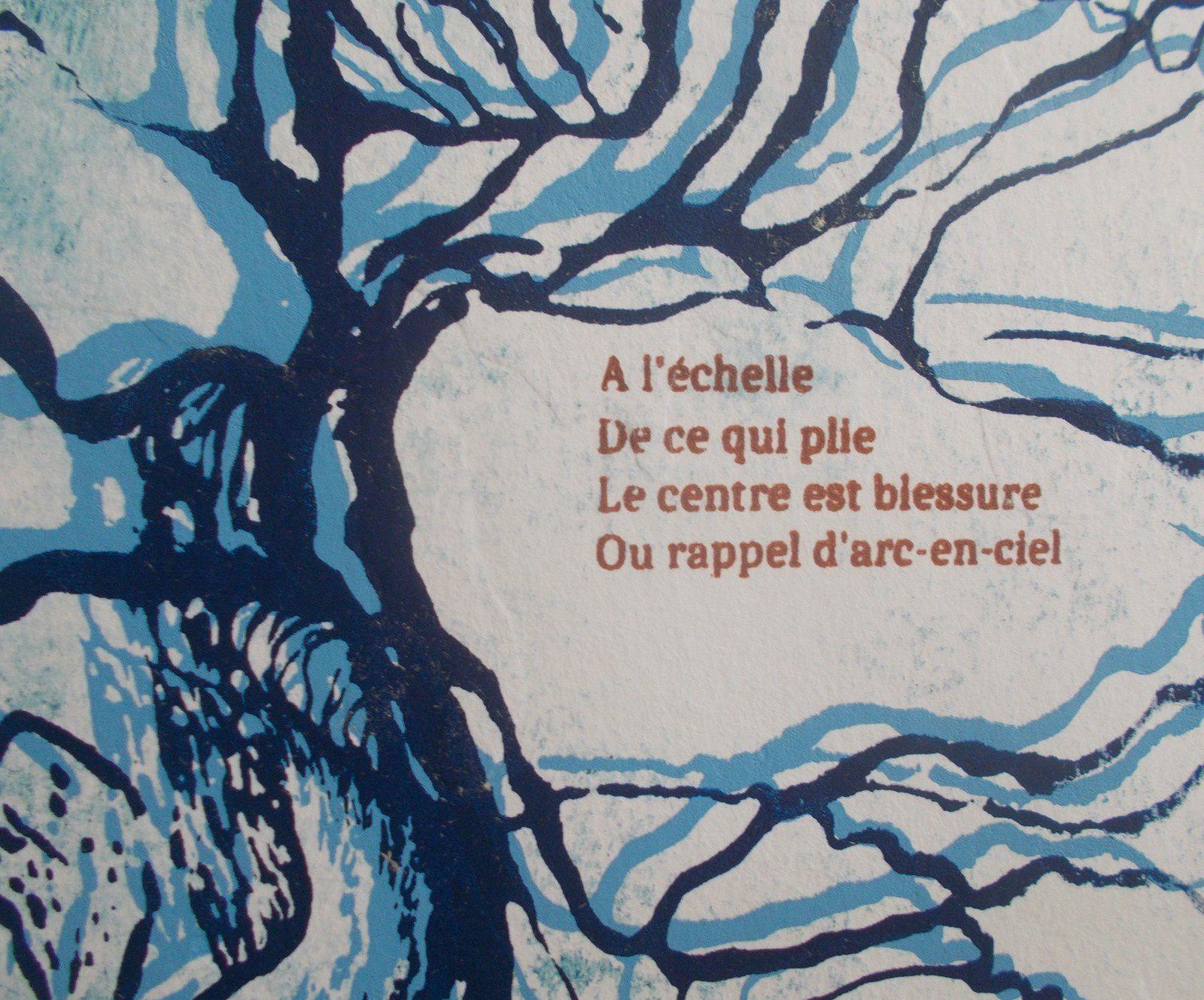 CARTE IMAGINAIRE/CARTE REELLE ( essai au recto). Poèmes de Régis Roux/ Dessins d'Elise Dartmour; 2019.