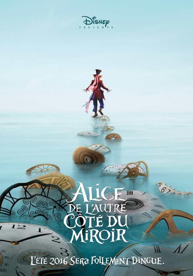 Alice, De l'Autre Côté du Miroir de James Bobin - Film review