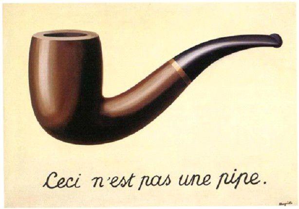 A la manière de Magritte : Golconde